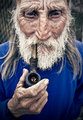 Old Man with Pipe