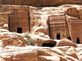 Necropolis in Petra