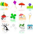 Seasons Change Icons