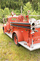 Old fire engine.
