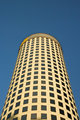 Round Office Tower on Blue Sky