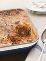 Lasagne in an Oven Dish