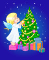 Chrismas cute angel
