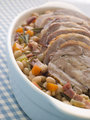 Braised Boneless Shoulder of Lamb with Beans