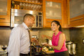Couple in Kitchen - Horizontal