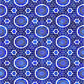 Blue ornament pattern