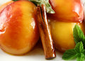 Poached Nectarines Background