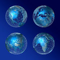 Blue World  all Continents