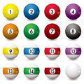 Pool balls