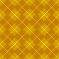 Golden gingham pattern