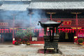 Chinese buddhist shrine 