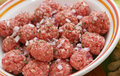 Fresh meatballs
