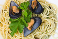 Spaghetti with mussels 2