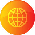 Globe navigation icon