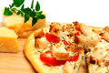 Chicken And Asiago Cheese Pizza