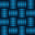 Blue stripe weave