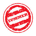 Summer passport stamp