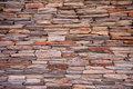 Natural slate stone wall