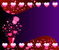 Valentine Champagne Background 2