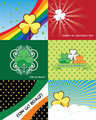 Set of St. Patricks day banners