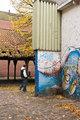 Graffiti in the city