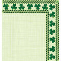 Border with clover