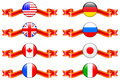 Internet Flag Buttons Collection