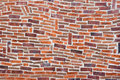 Wall with fantasy brickwork