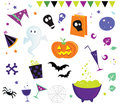 Vector - Halloween vector Icons set III