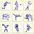 Sports Stamp Collection