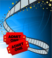 Admission Tickets with Film Strip