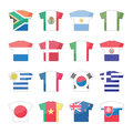 Countries flags icons - set 1 of 2