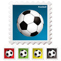 Football world stamp
