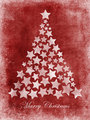 Marry Christmas tree stars grunge