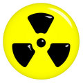 3D Radioactive Symbol
