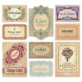 Vintage labels set (vector)
