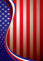Usa american background template