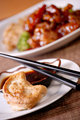 General tso's and dumplings
