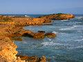 Rocky coast in Victoria, Australia