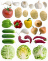 Vegetables set.