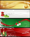 Christmas banners