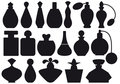 Perfume bottles, vector