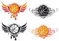 Abstract basketball vector