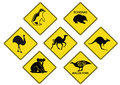 Australian Road Signs 