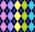 Vector argyle seamless pattern