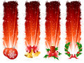 Grunge Christmas banner