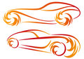 Tattoo cars, vector