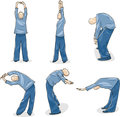 Man Practice Tai Chi