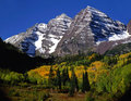 Maroon Bells No Clouds