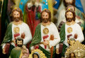 Three Jesus Statues